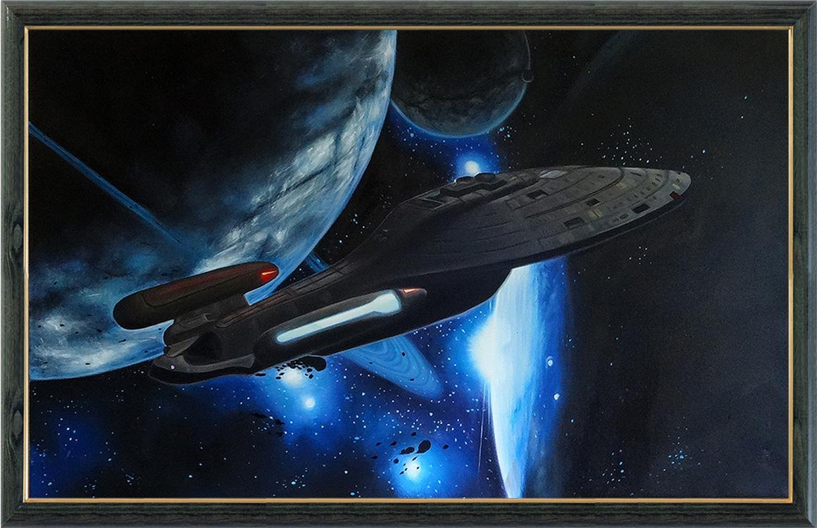 Звездный путь (в раме)